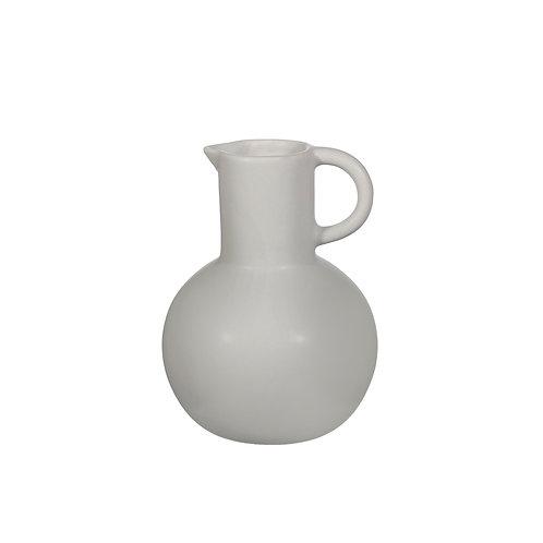 Grey Amphora Jug Vase
