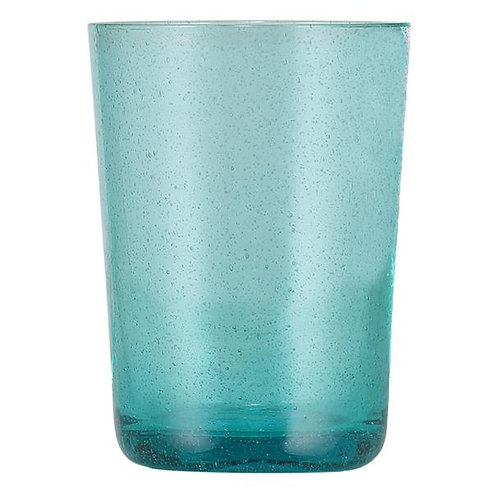 Handmade Blue Glass Tumbler
