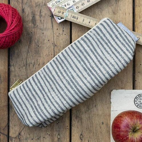Sam Wilson Pencil Case - Grey Stripe