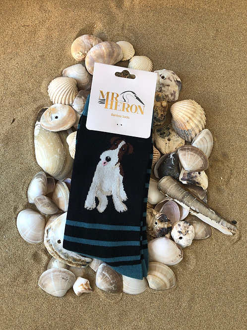 Fox Terrier Socks