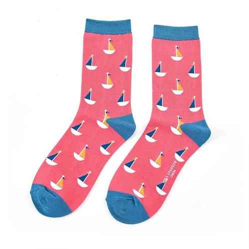 Miss Sparrow Little Boats Socks