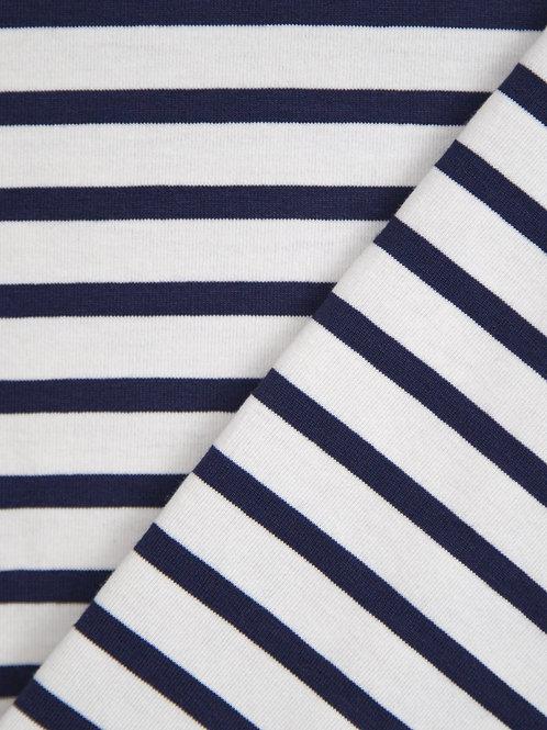 Chalk Robyn Top - Navy Stripe