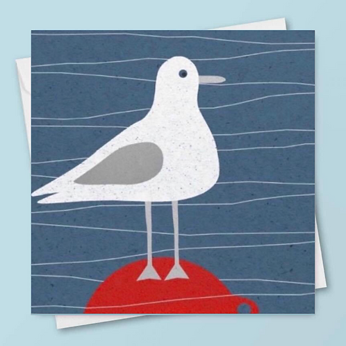 'Bobbing About' Card