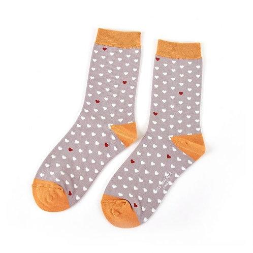 Miss Sparrow Little Hearts Socks