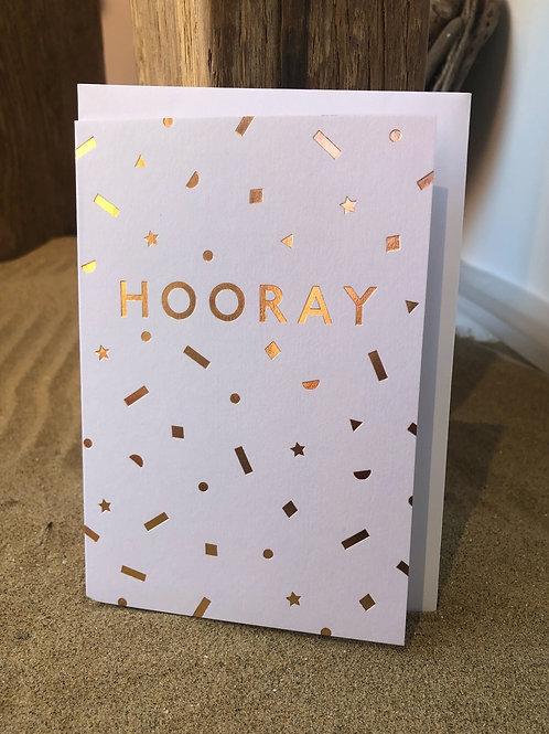 'Hooray' Card