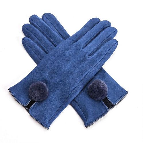 Harriet Gloves - Navy