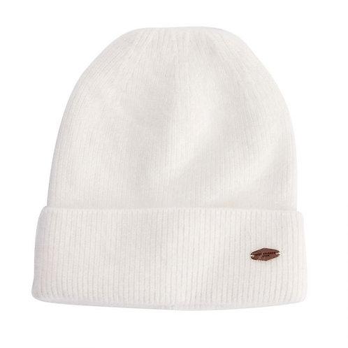 Verona Angora Hat - Cream
