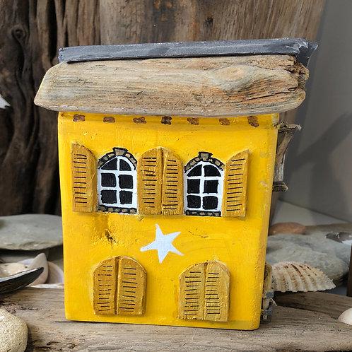 Handmade Driftwood House