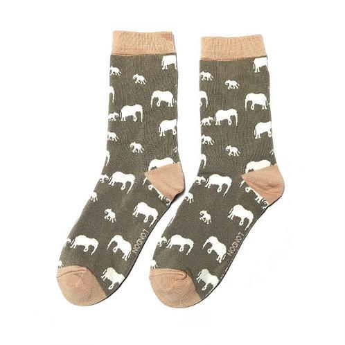 Miss Sparrow Elephant Socks