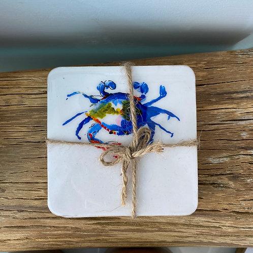 Crab Coasters (Set of 4)