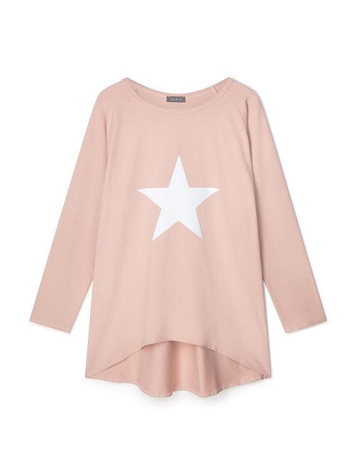 Chalk Robyn Top - Pink/White Star