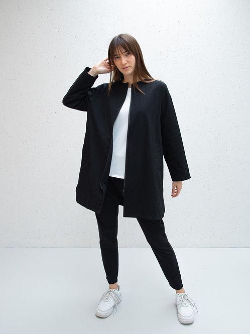Chalk Mia Coat - Black