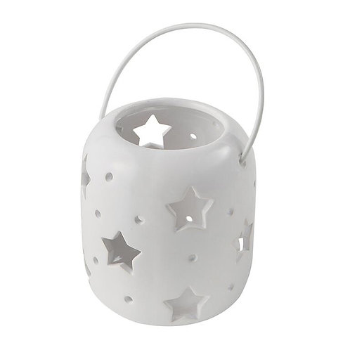 Ceramic Stars Candle Holder