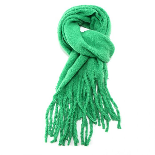 Bright Green Winter Scarf