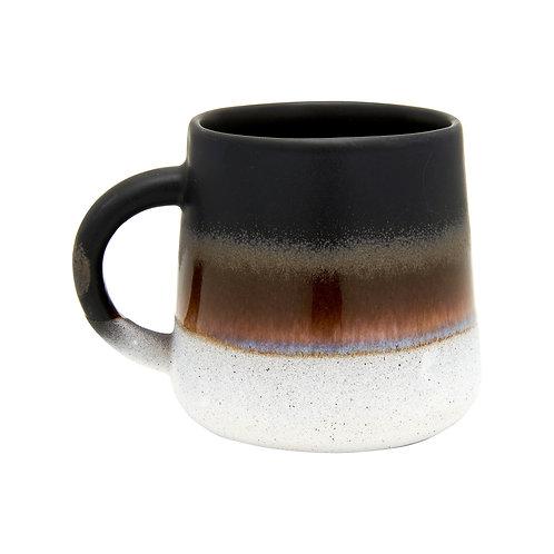 Black Ombre Glaze Mug
