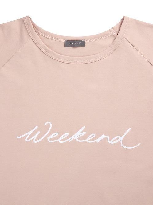 Chalk Darcey Top - Pink/Weekend