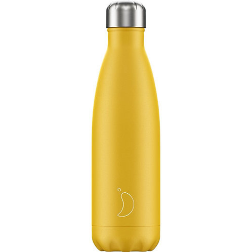 500ml Chilly's Water Bottle - Burnt Yellow