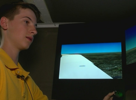 """Inaugural 'Night at the Hangar'"""" event draws students who all share a love for the sky"""