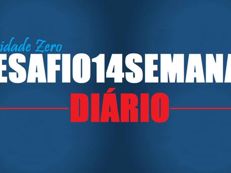 DESAFIO 14 SEMANAS | Diário