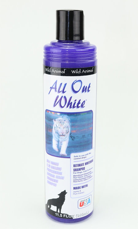 All Out White Color Enhancing Shampoo by Wild Animal 50:1 - 11.7oz