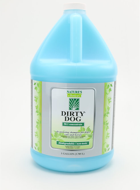 Dirty Dog Shampoo by Nature's Choice 50:1 - Gallon