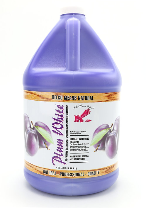 Plum White Shampoo by Kelco 50:1 - Gallon