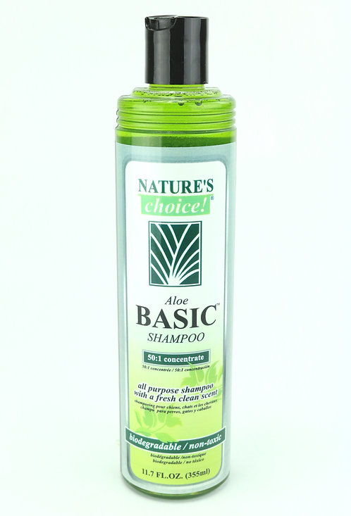 Aloe Basic Shampoo by Nature's Choice 50:1 - 11.7oz