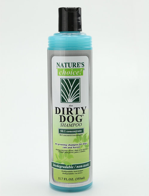 Dirty Dog Shampoo by Nature's Choice 50:1 - 11.7oz