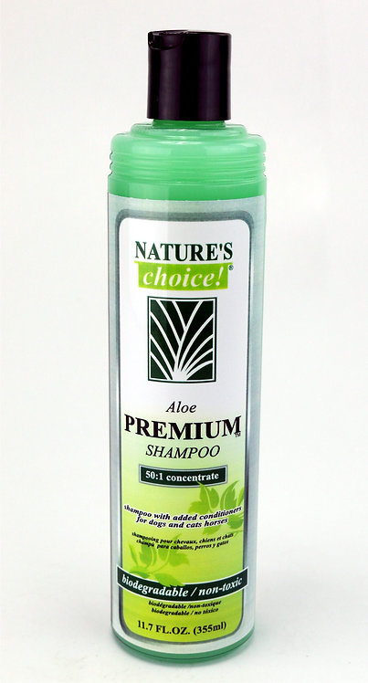 Aloe Premium Shampoo by Nature's Choice 50:1 - 11.7oz