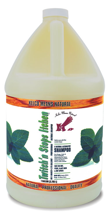Twitch'n Stop Itchin Shampoo by Kelco 50:1 - Gallon