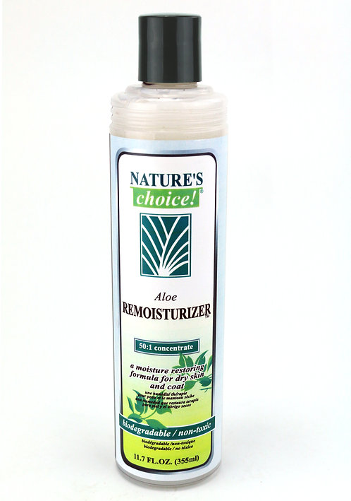 Aloe Remoisturizer Conditioner by Nature's Choice 50:1 - 11.7oz