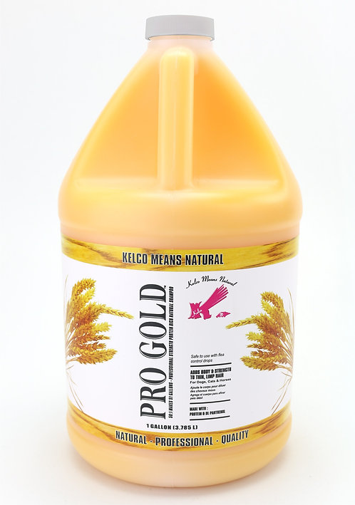Pro Gold Shampoo by Kelco 50:1 - Gallon