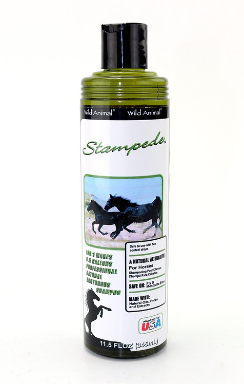 Stampede Shampoo by Wild Animal 10:1 - 11.7oz