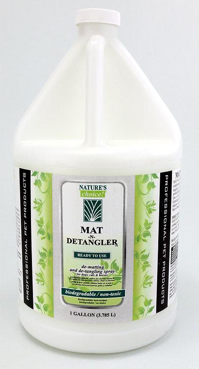 Mat-N-Detangler Spray by Nature's Choice 50:1 - Gallon