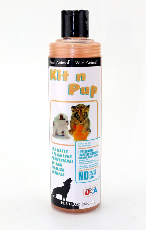 Kit n Pup Shampoo by Wild Animal 50:1 - 11.7oz