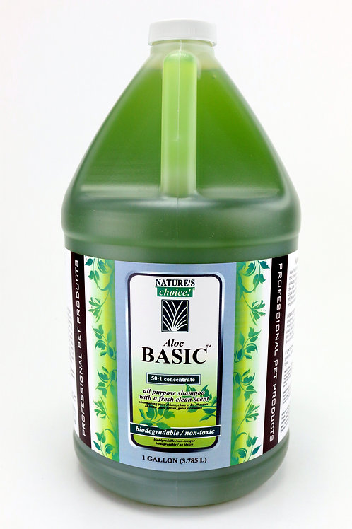 Aloe Basic Shampoo by Nature's Choice 50:1 - Gallon