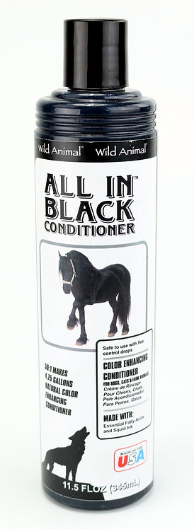 All in Black Color Enhancing Conditioner by Wild Animal 50:1 - 11.7oz