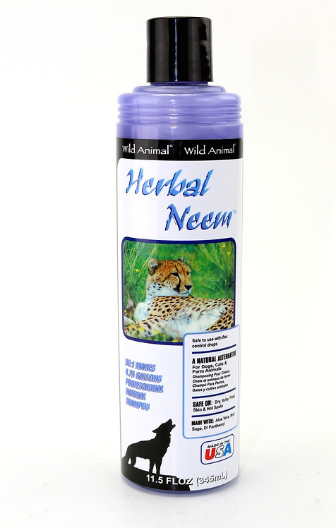 Herbal Neem Shampoo by Wild Animal - 11.7oz