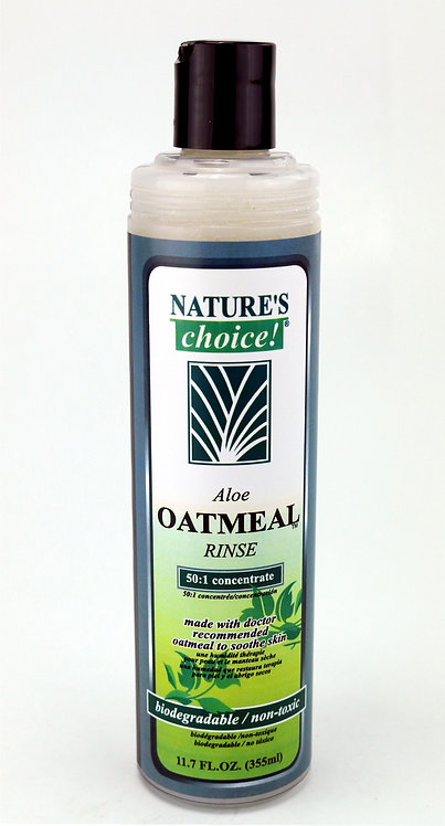 Aloe Oatmeal Rinse Conditioner by Nature's Choice 50:1 - 11.7oz