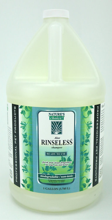 Rinseless Shampoo by Nature's Choice 50:1 - Gallon