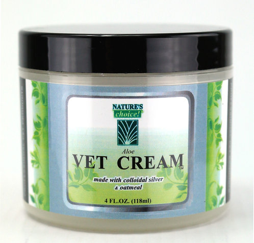 Aloe Vet Cream by Nature's Choice - 4oz