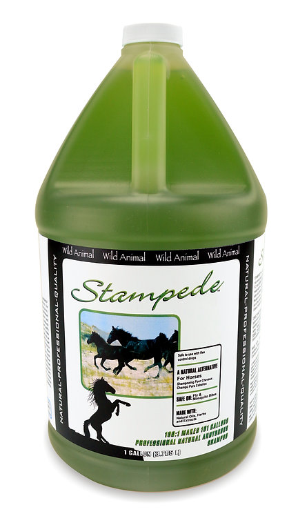 Stampede Shampoo by Wild Animal 100:1 - Gallon
