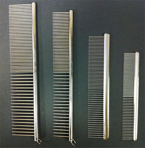 Metal Finishing Combs by Laube
