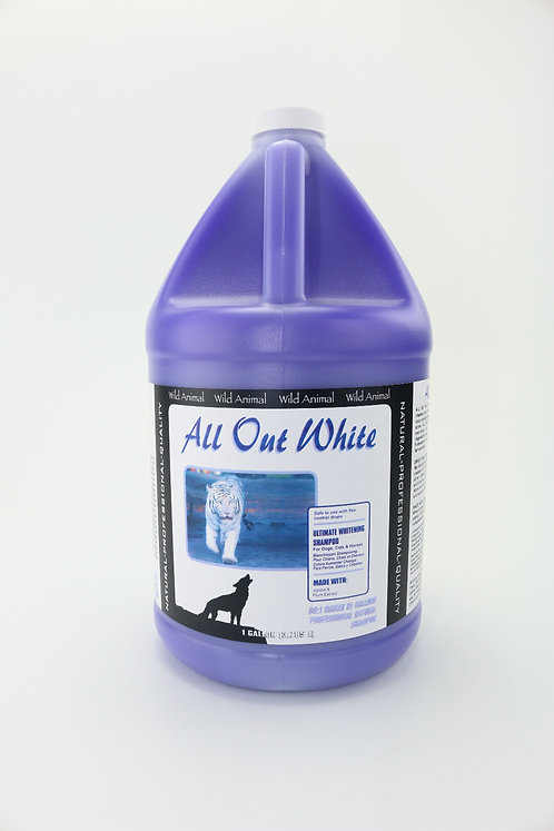 All Out White Color Enhancing Shampoo by Wild Animal 50:1 - Gallon