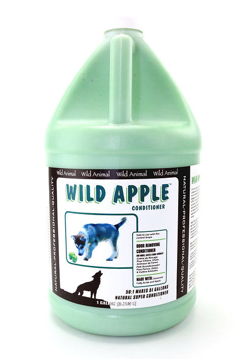 Wild Apple Conditioner by Wild Animal 50:1 - Gallon