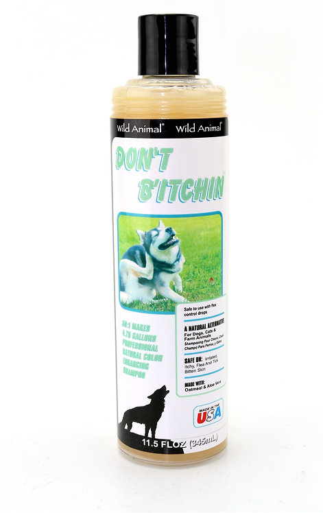 Don't B'Itchin Shampoo by Wild Animal 50:1 - 11.7oz