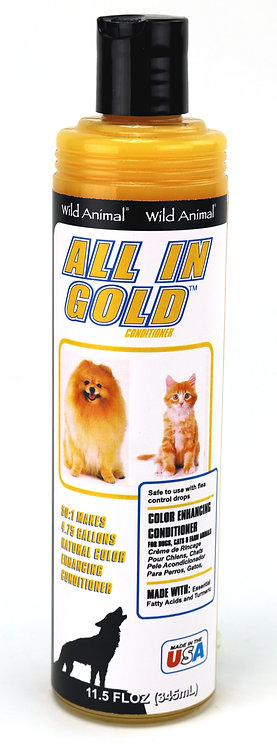 All in Gold Color Enhancing Conditioner by Wild Animal 50:1 - 11.7oz