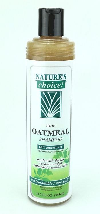 Aloe Oatmeal Shampoo by Nature's Choice 50:1 - 11.7oz