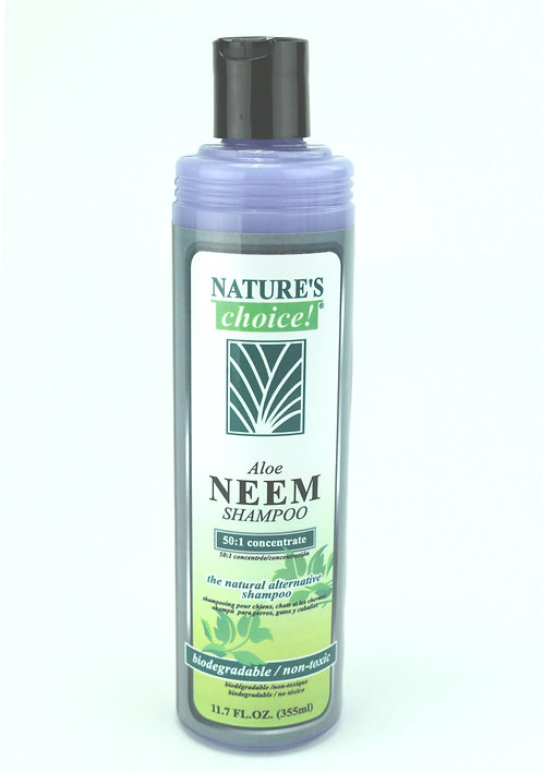 Aloe Neem Shampoo by Nature's Choice 50:1 - 11.7oz
