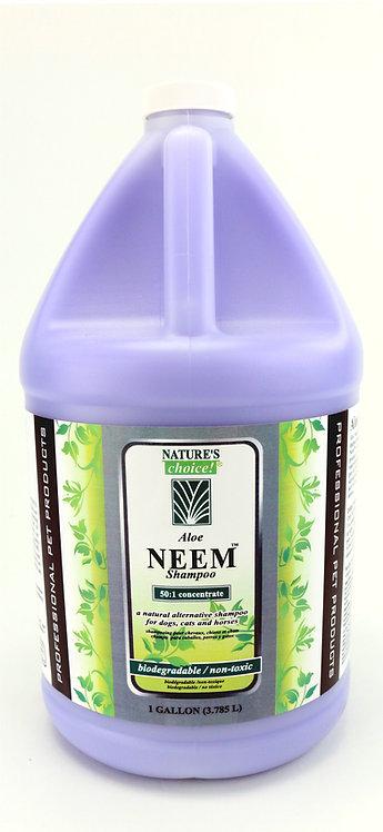 Aloe Neem Shampoo by Nature's Choice 50:1 - Gallon